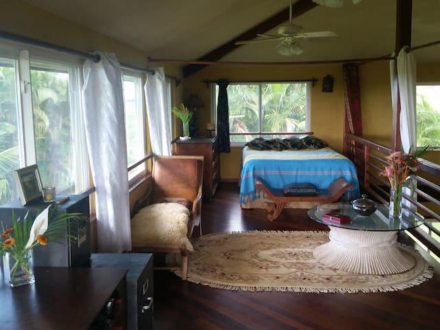 OceanView Loft on 6 acre estate - Kilauea - Villa