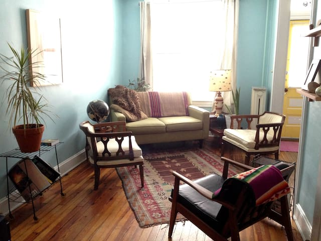 Private room in Hampden rowhouse.