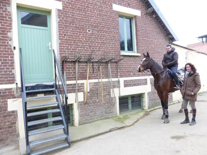 GITE au coeur d'un Centre Equestre