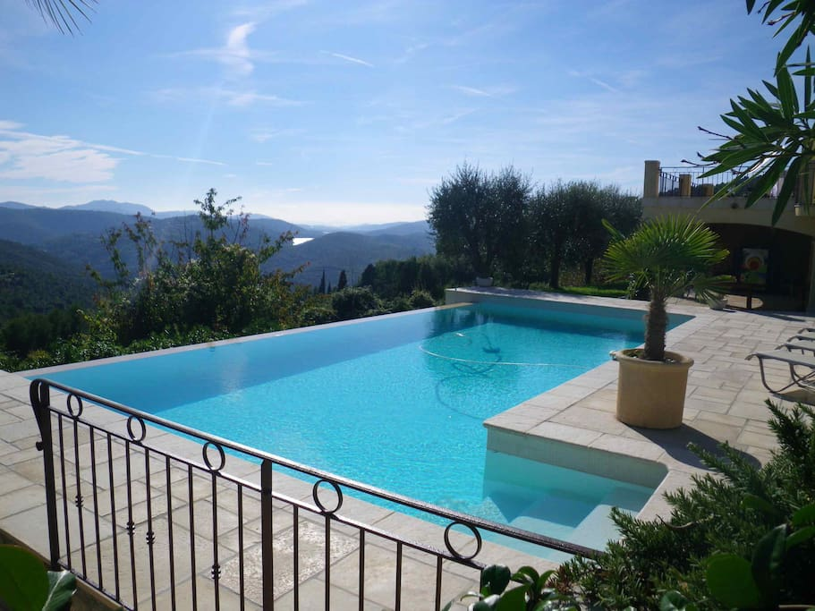 villa avec piscine vue lac cote d azur houses for rent in le tignet provence alpes c 244 te d