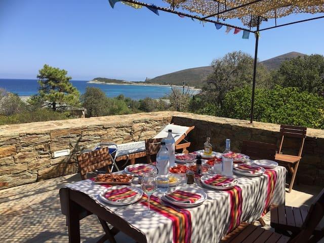 Cap Corse Barcaggio villa entière La Belle Vie