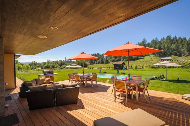 Casa de Campo 4/3 house with pool - Healdsburg - Dom