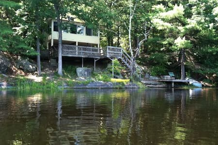 Lakefront Cabin, Rhinebeck, NY - Staatsburg - 小木屋