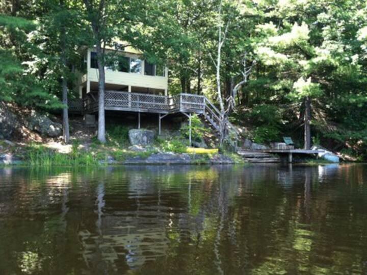 Lakefront Cabin, near Rhinebeck, NY