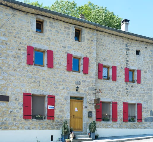 Le Lys de la Vallée - Labastide-sur-Bésorgues - Bed & Breakfast