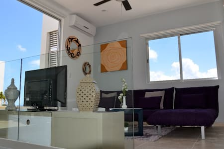 Penthouse oceanview  nearby mamitas