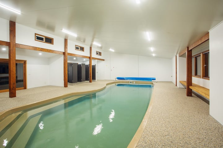 Island Escape by the Beach with INDOOR HEATED POOL