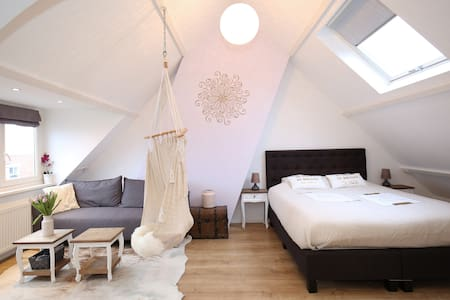 Big & Bright Studio Well Located - Haarlem - Apartment