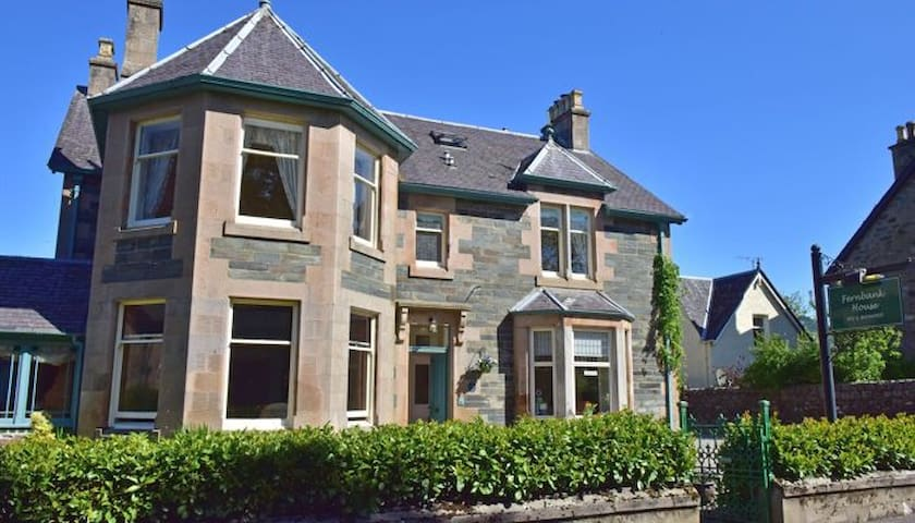Fernbank House B & B. Manicure/Pedicure available. - Aberfeldy - Bed & Breakfast
