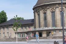Der Deutzer Bahnhof