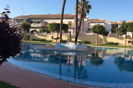2 bedrooms pool apartment near sea - Torre La Mata