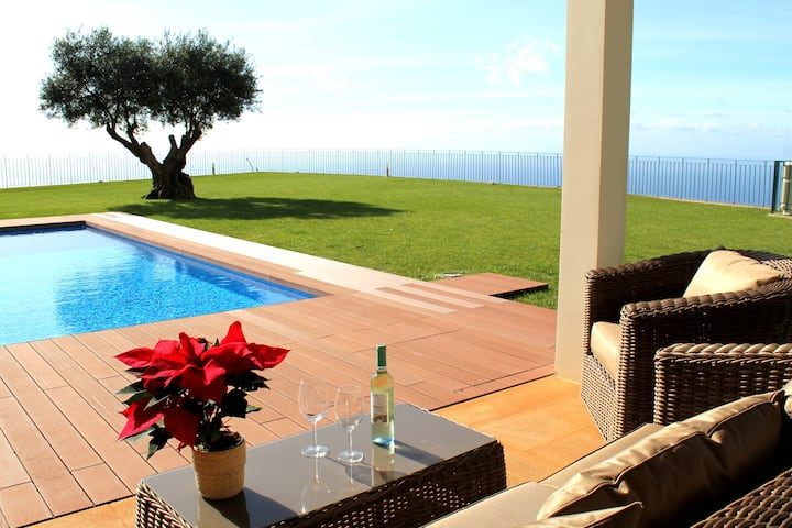 Bellevue Villa Madeira Magnificent Sea View