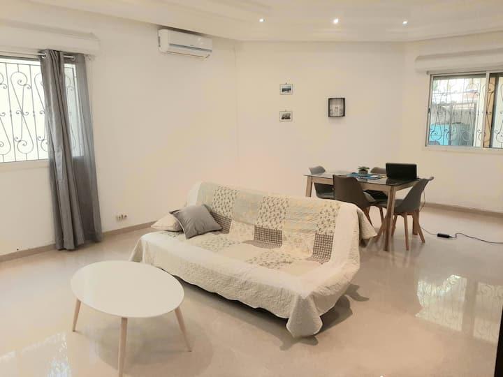 Appartement meublé aux Almadies avec piscine