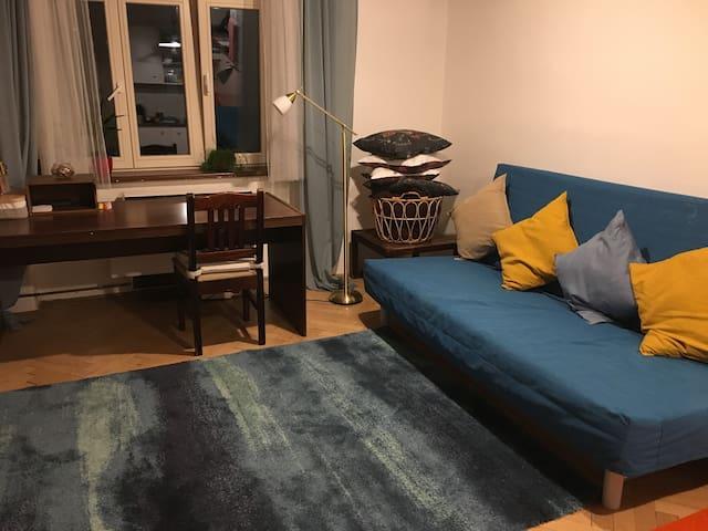 Two room flat at Žižkov