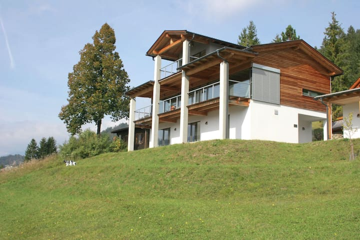 Modern Villa with Sauna in Weissensee