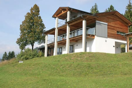 Lavish Villa on an Exclusive Mountain in Weissensee with Sauna