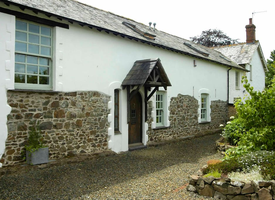 Front of Old Coach House