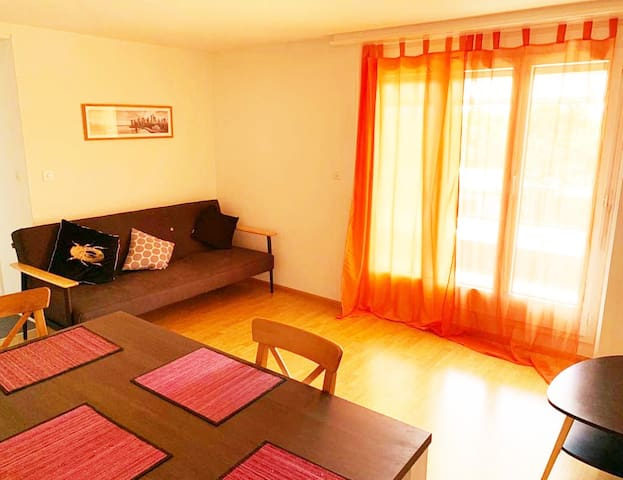 2.5 rooms (1BR) apartment-Badisher BH-Basel-5OG