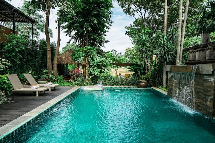 Baan Chang Noi - Lanna Style 2Bdrm w/ Private Pool