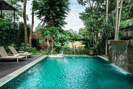 Baan Chang Noi - Lanna Style 2Bdrm w/ Private Pool - Tambon Sop Mae Kha