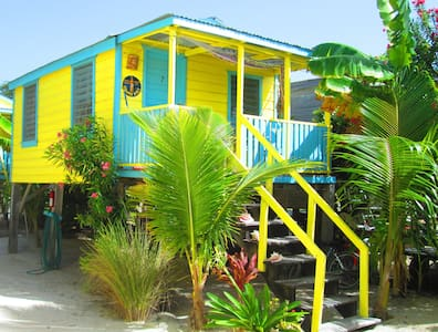 # 7  Classic Caribbean Cabana on prime sandy beach - Caye Caulker