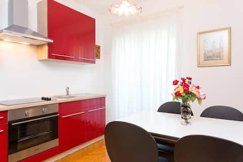 Cozy 2BD apartment,4+1