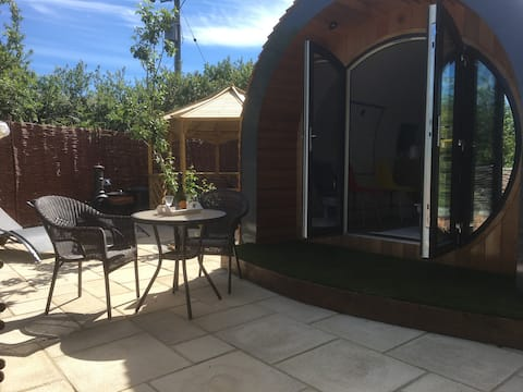 The Orchard Glamping pod