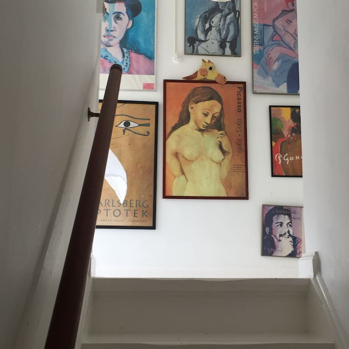 Hallway and gallery