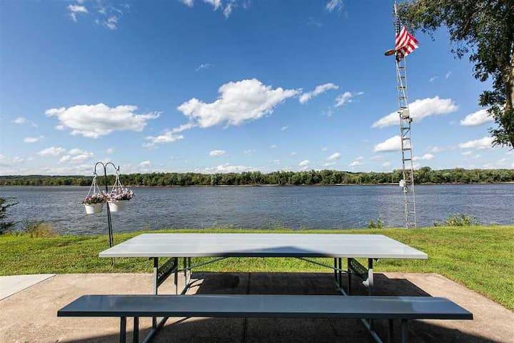 Mississippi River Home - N.E. Iowa.