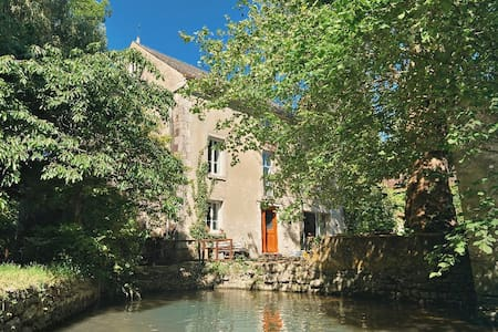 Le Moulin Inattendu / à 1h de Paris / 25 couchages
