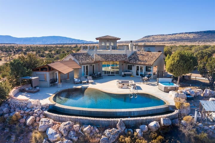 Beautiful Luxury Home With Infinity Pool & Amazing Views!! The Sanctuary at Sacred Mesa - Tomahawk S087