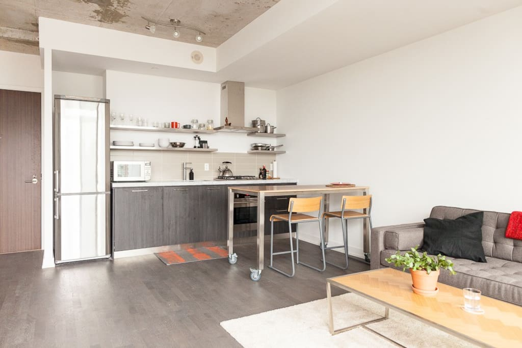 Open Kitchen / Living space
