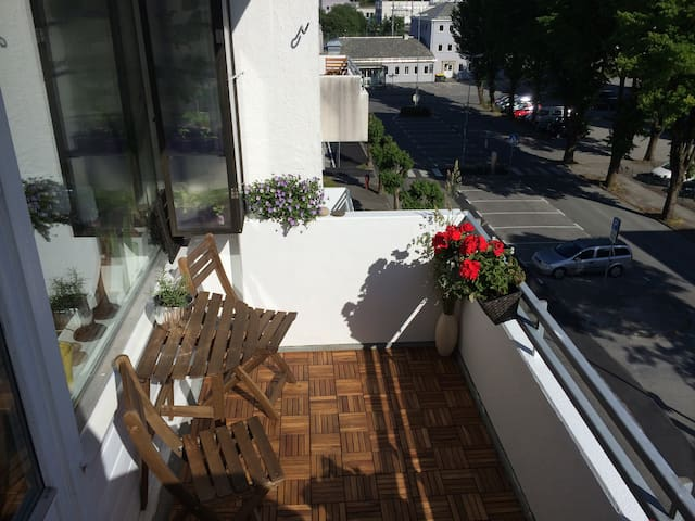 Homey central apartment - Sandnes - Daire