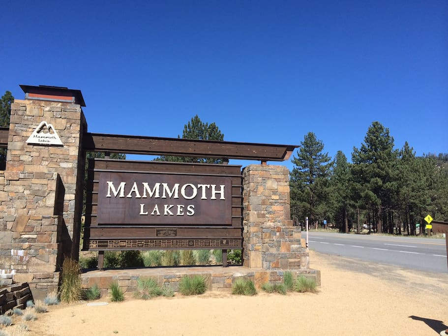 Welcome to Beautiful Mammoth Lakes, CA
