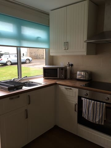 Fully Equipped Modernised Kitchen.