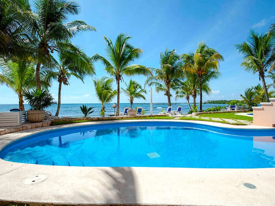 Riviera Maya Haciendas, Quinta Maya  - The First Swimming Pool with Ocean View