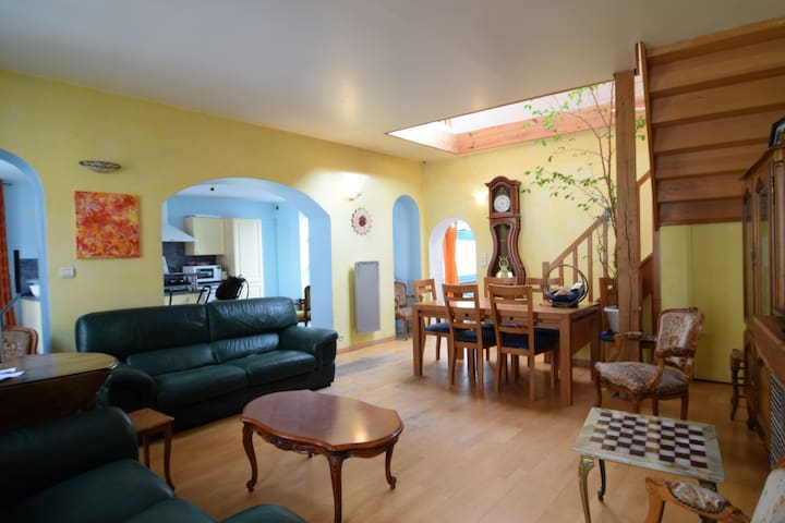 Cozy duplex near the city center (5-8 p) - Sartrouville - Wohnung