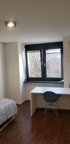 20 sqm apartment with private bathroom and kitchen