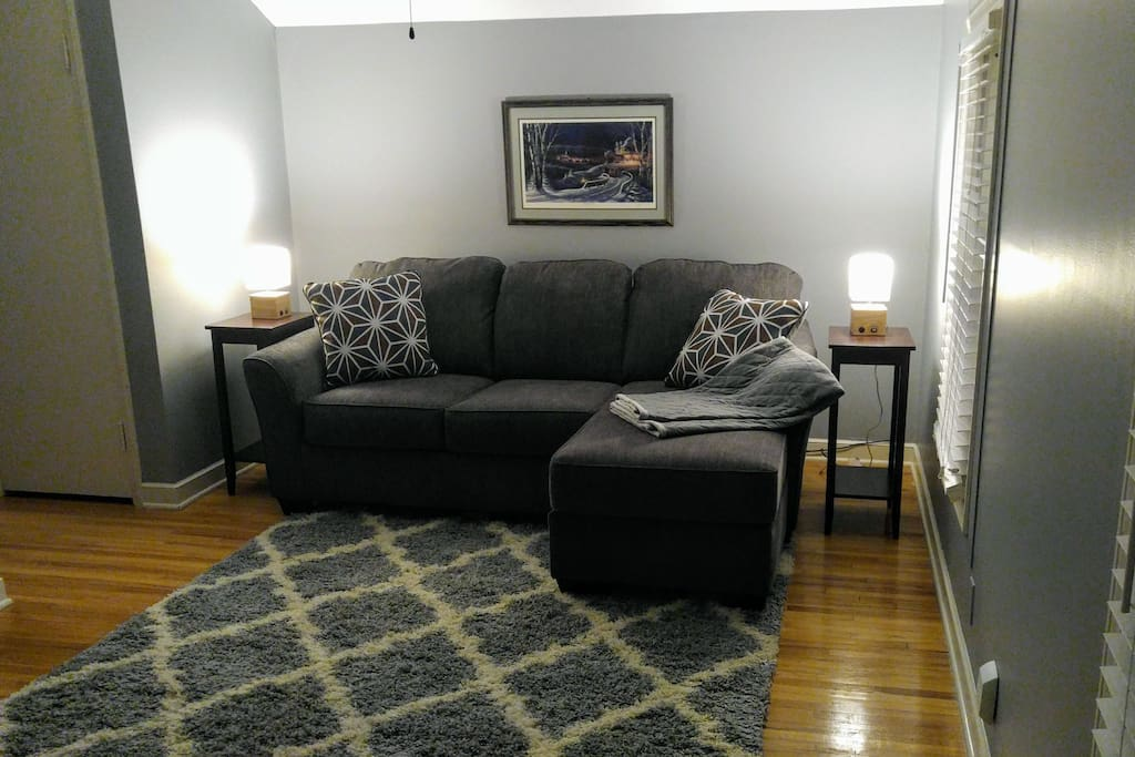 Your own private living room