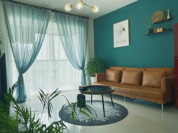 【绿野仙踪】南门口九方万象城达芬奇轻奢大床房