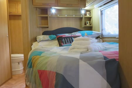 Private Luxury Caravan Experience - Gisborne - Camper/RV