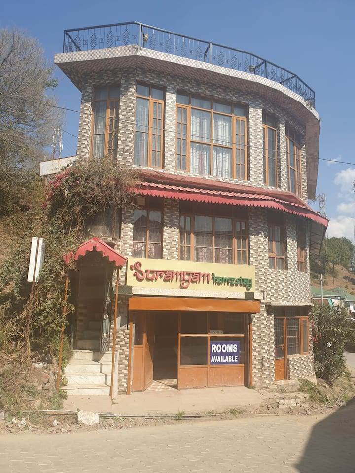 Suramyam Homestay | Private Room |KASAULI