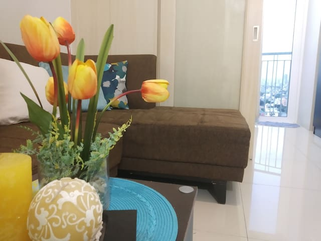 Haven@Jazz2 /1 br/kitchen/balcony,cable/wifi 4pax