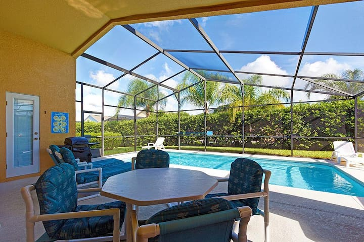 Luxury Orlando Villa Near Disney World w/Pool, Tub - Davenport - Talo