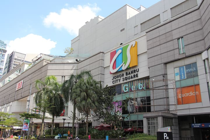 City Square Largest Shopping Mall in JB just Opposite Our Home