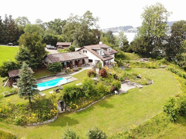 Lake Villa Lotus (private lake access)❁ 5 rooms