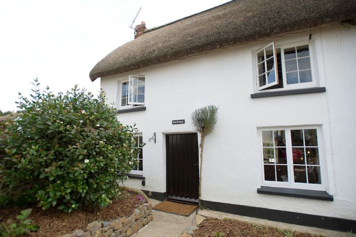 Rose Cottage - Thatched 18th Century Cottage - High Bickington - Hus