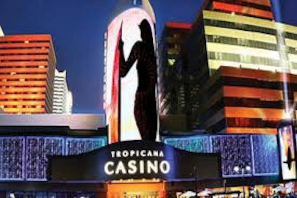 Tropicana Casino across the way