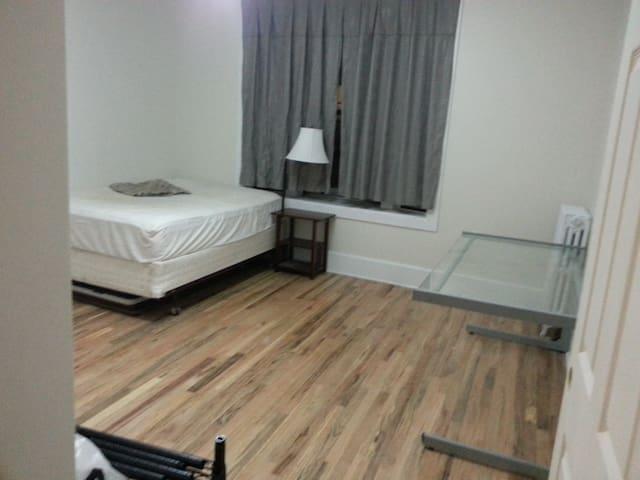 Clean quiet room