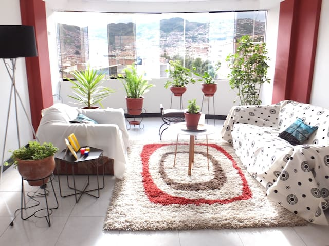 Sunny Apartment with Amazing  Panoramic Views - Cusco - Apartment